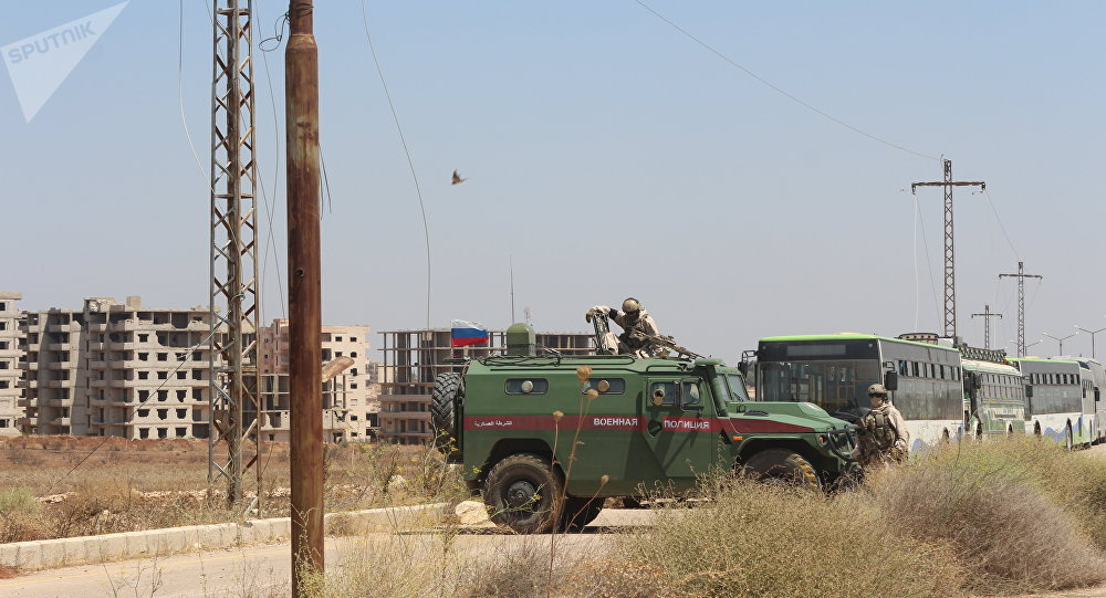 Police militaire russe a Deraa