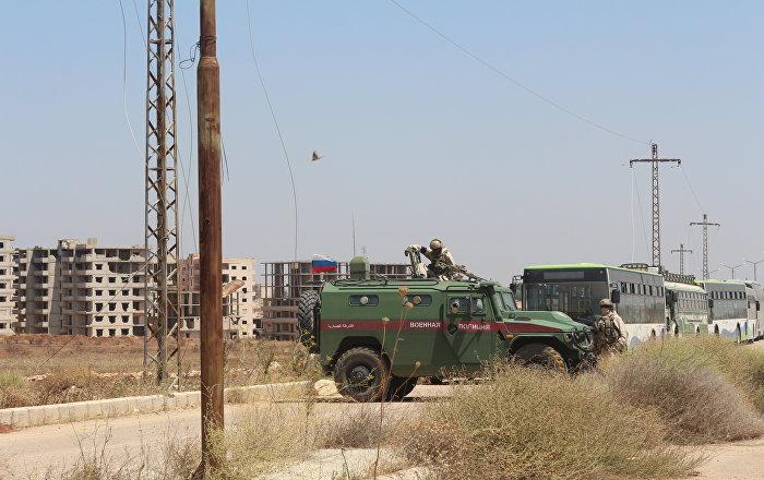La police militaire russe en Syrie