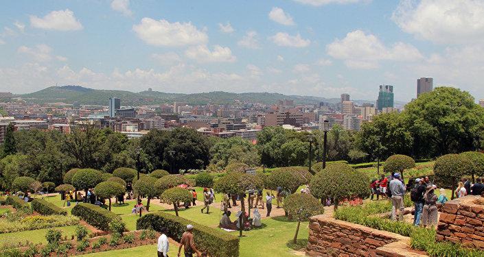 Pretoria, capitale de l'Afrique du Sud