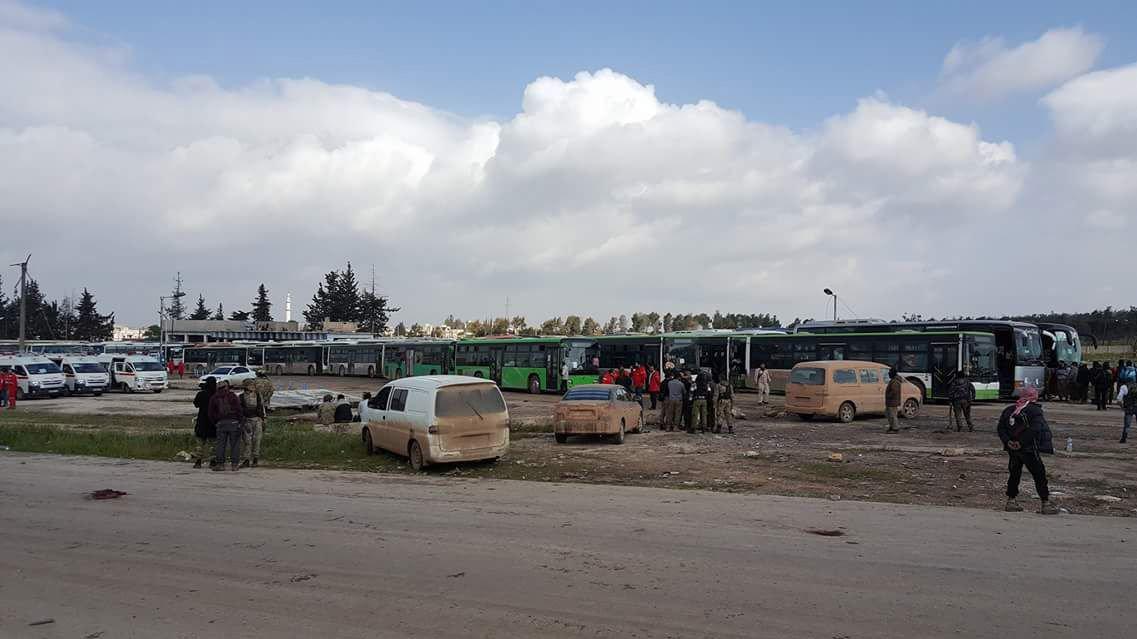 7.000 civils sortis de villes assiégées en échange de 1.500 terroristes relâchés par Damas
