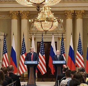 Rencontre Trump–Poutine à Helsinki
