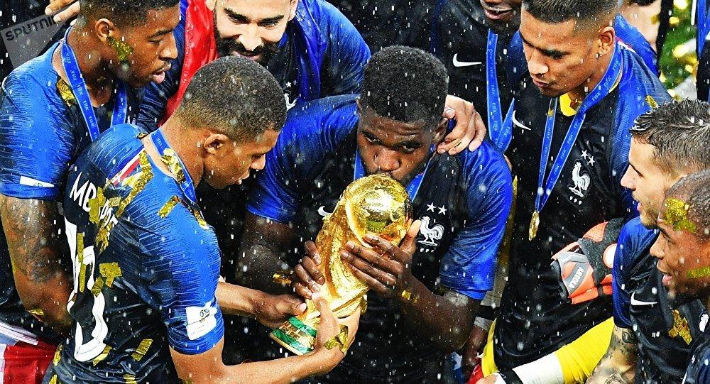 L'équipe nationale de la France