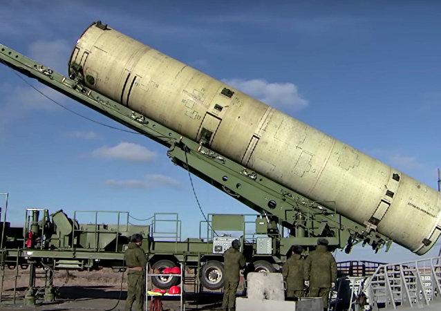 Le lancement d'un missile antimissile modernisé depuis le polygone de Sary Chagan