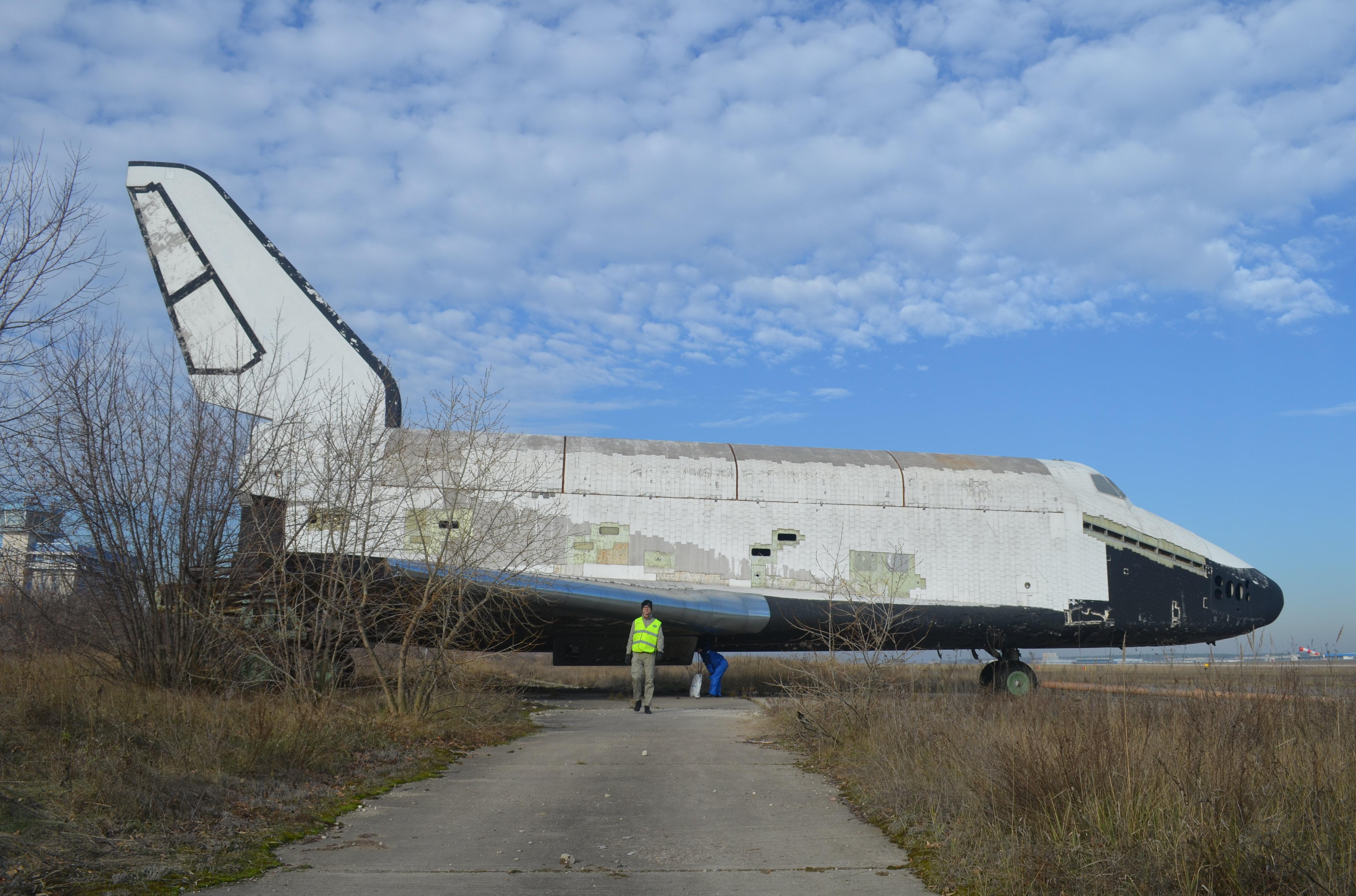 Une navette spatiale Bourane figure parmi les pièces potentielles du futur musée