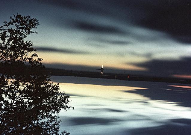 Le ciel sombre (image d'illustration)