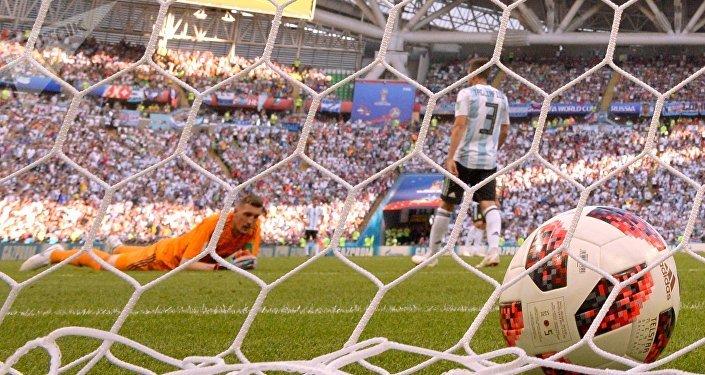 Un match du Mondial