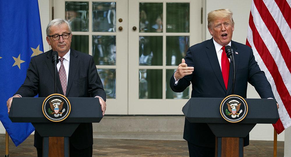 L'Allemagne défie Trump — Guerre commerciale