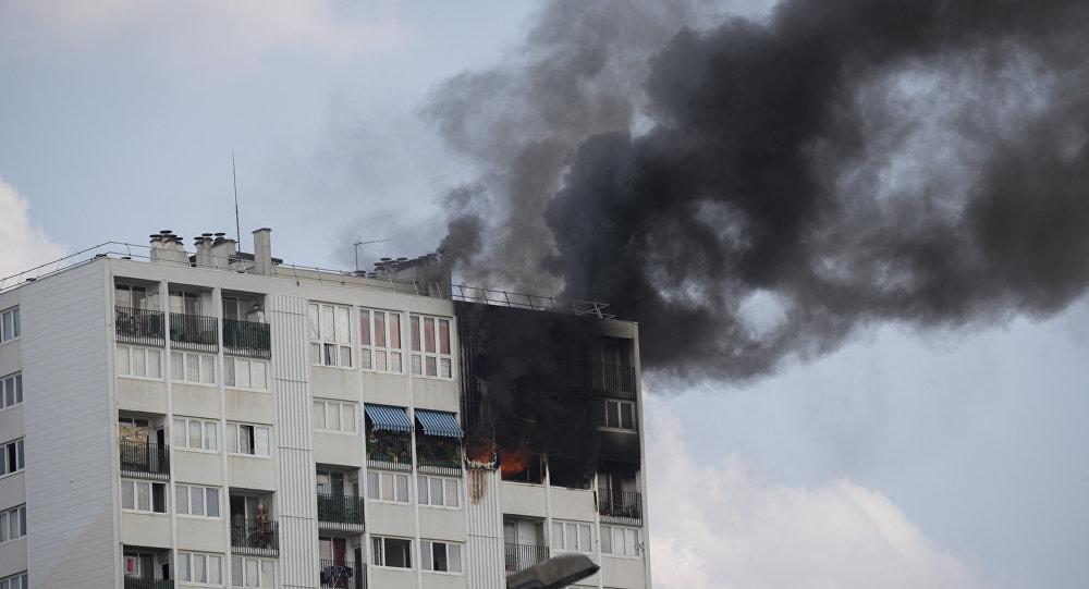 incendie à Aubervilliers