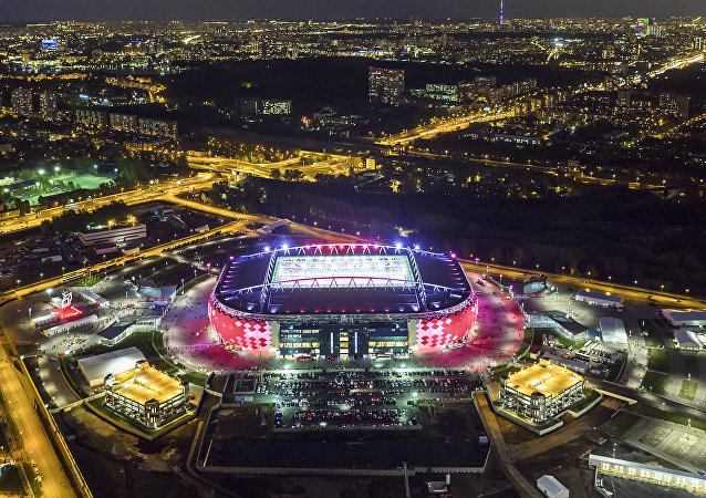 Stade du Spartak à Moscou
