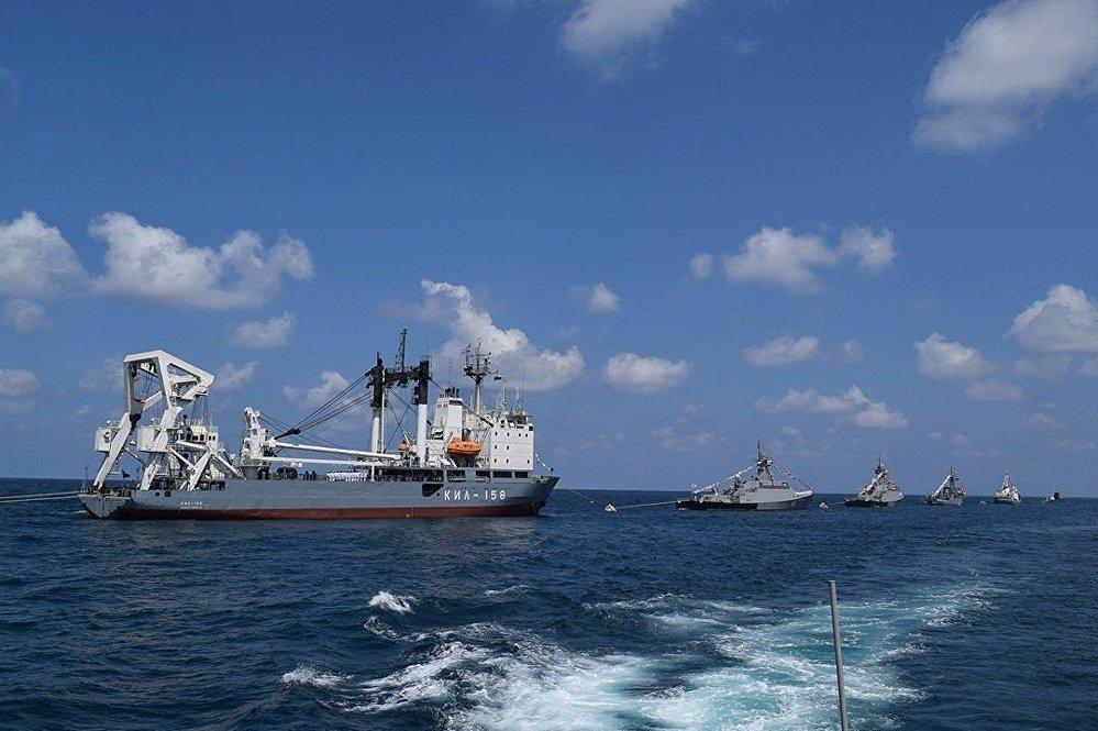 Parade navale à Tartous