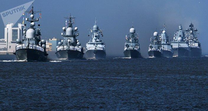 Jour de la Marine russe