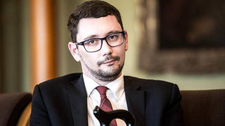 Jiri Ovcacek, porte-parole du Président tchèque Milos Zeman