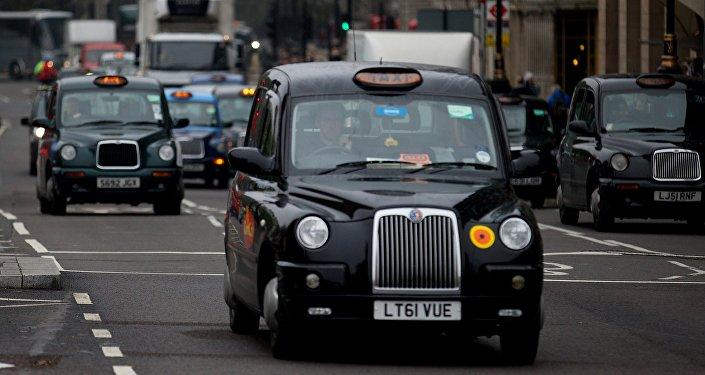 Un taxi londonien