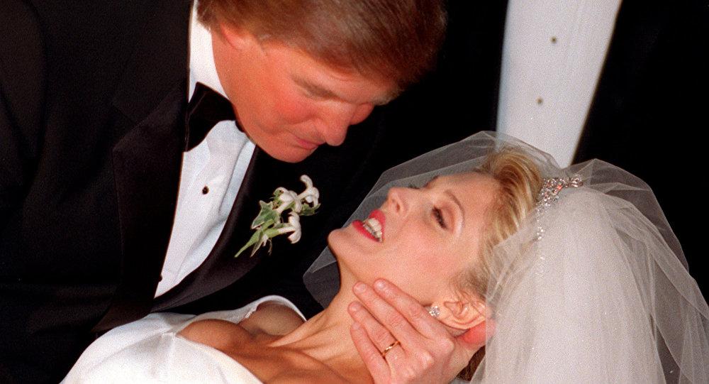 Mariage de Donald Trump, 1992