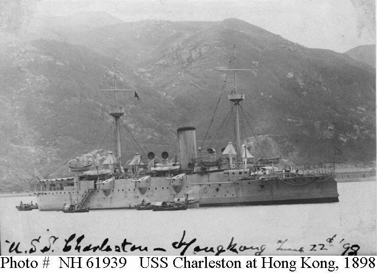 USS Charleston (C-2)