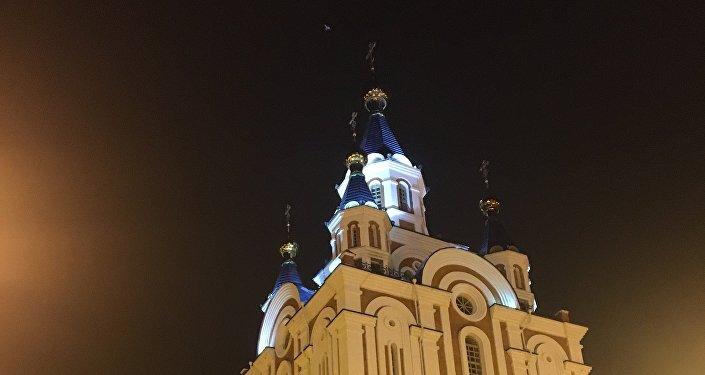 Khabarovsk dans la nuit