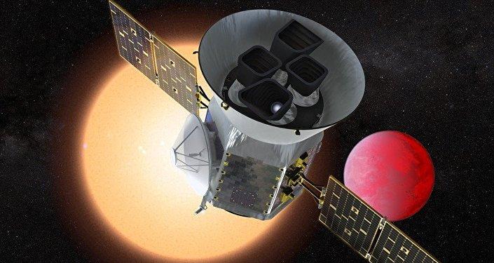 Le télescope spatial TESS (vue d'artiste)