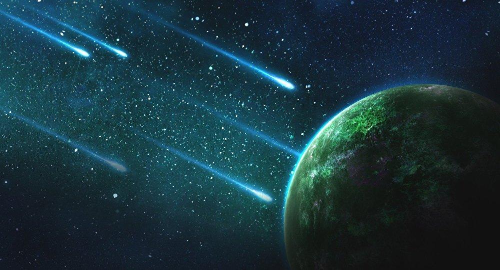 Des météorites