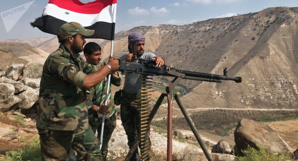 L'armée syrienne a libéré la province de Deraa des terroristes