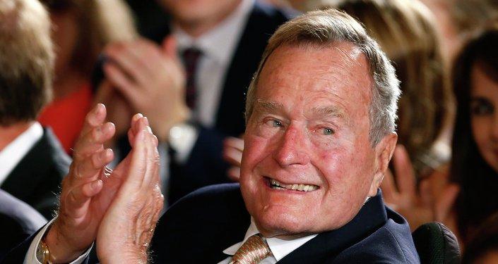 Former President George H. W. Bush