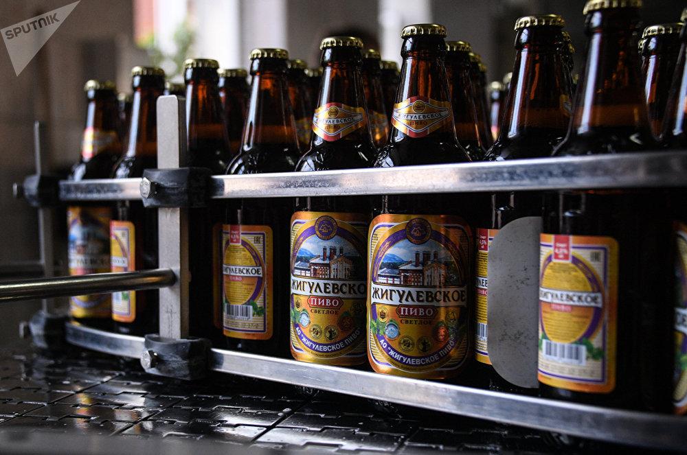 Production de la bière de nos jours