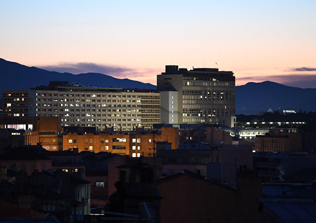 l'hôpital de la Timone