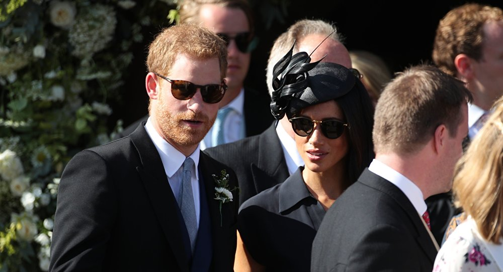 Le prince Harry et son épouse