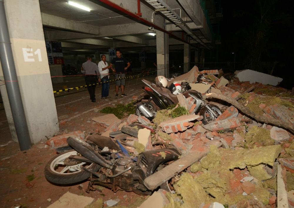 Les conséquences du séisme en Indonésie