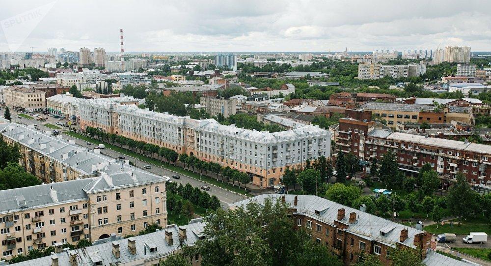 La ville d'Ivanovo