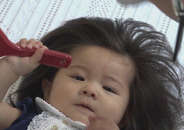 Voici la petite Raiponce du Japon