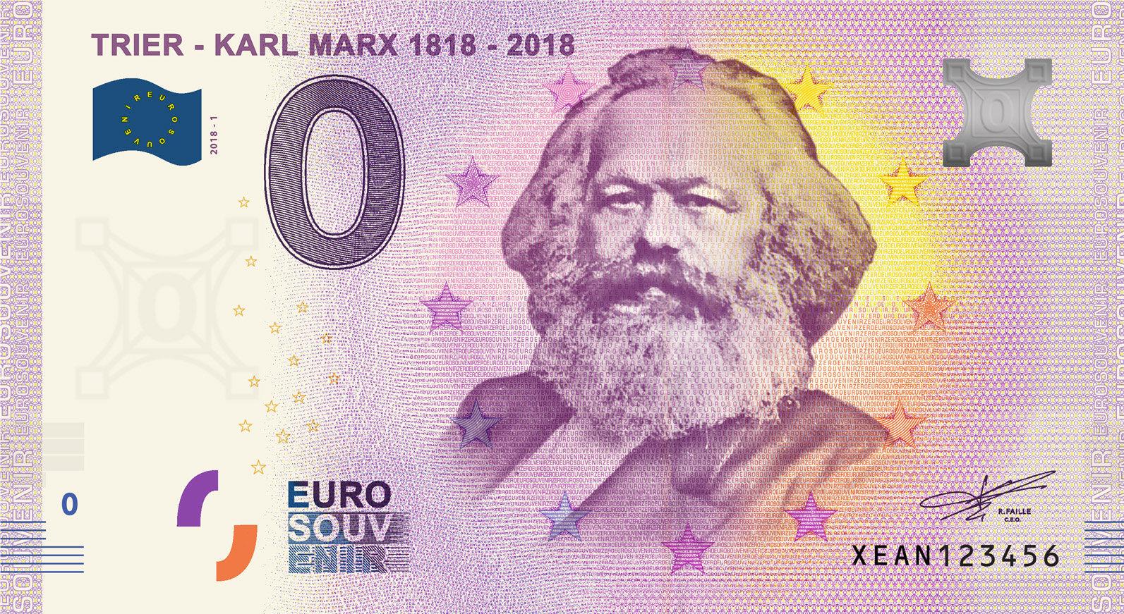 Billets souvenirs à 0 euro