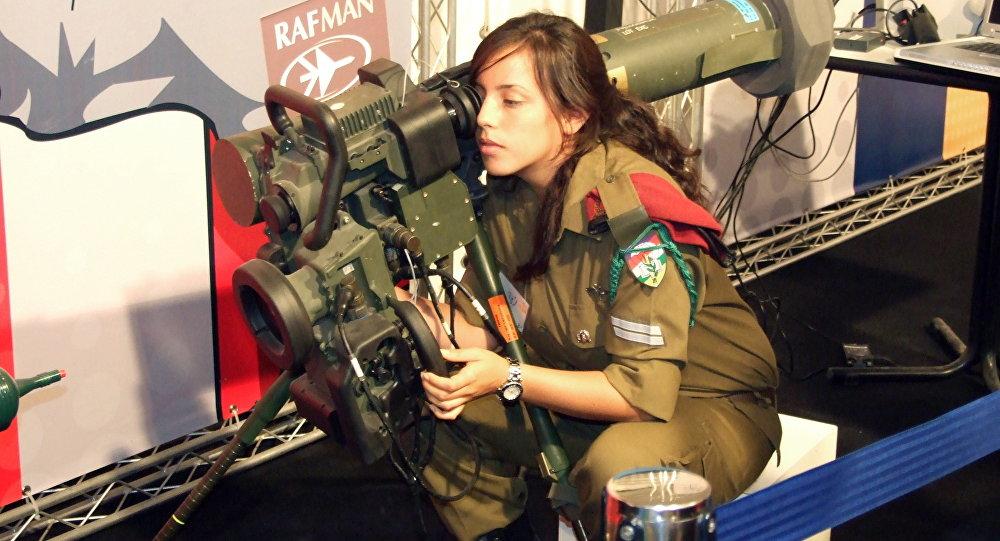 Une militaire israélienne