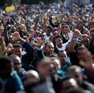 Des migrants africains à Tel Aviv