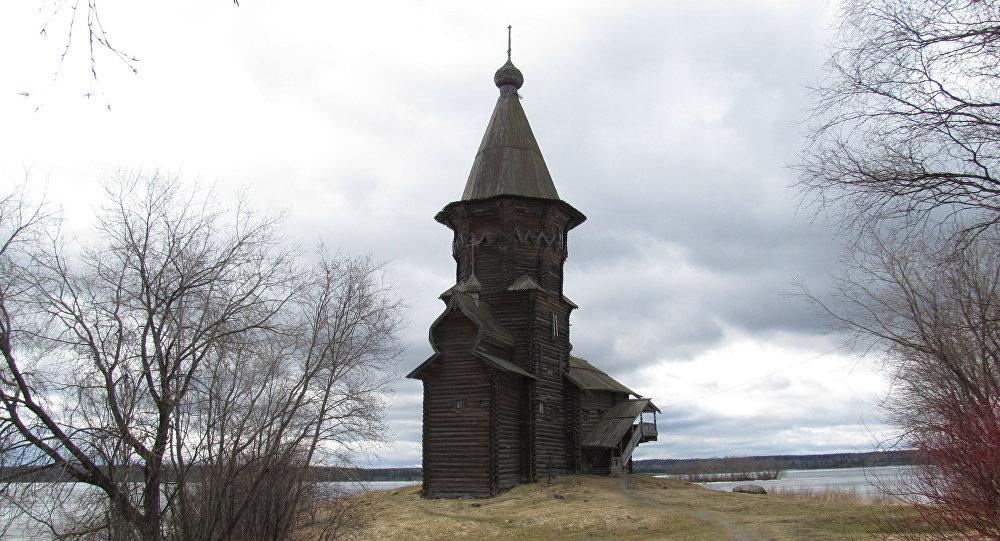 L'église de l'Assomption à Kondopoga