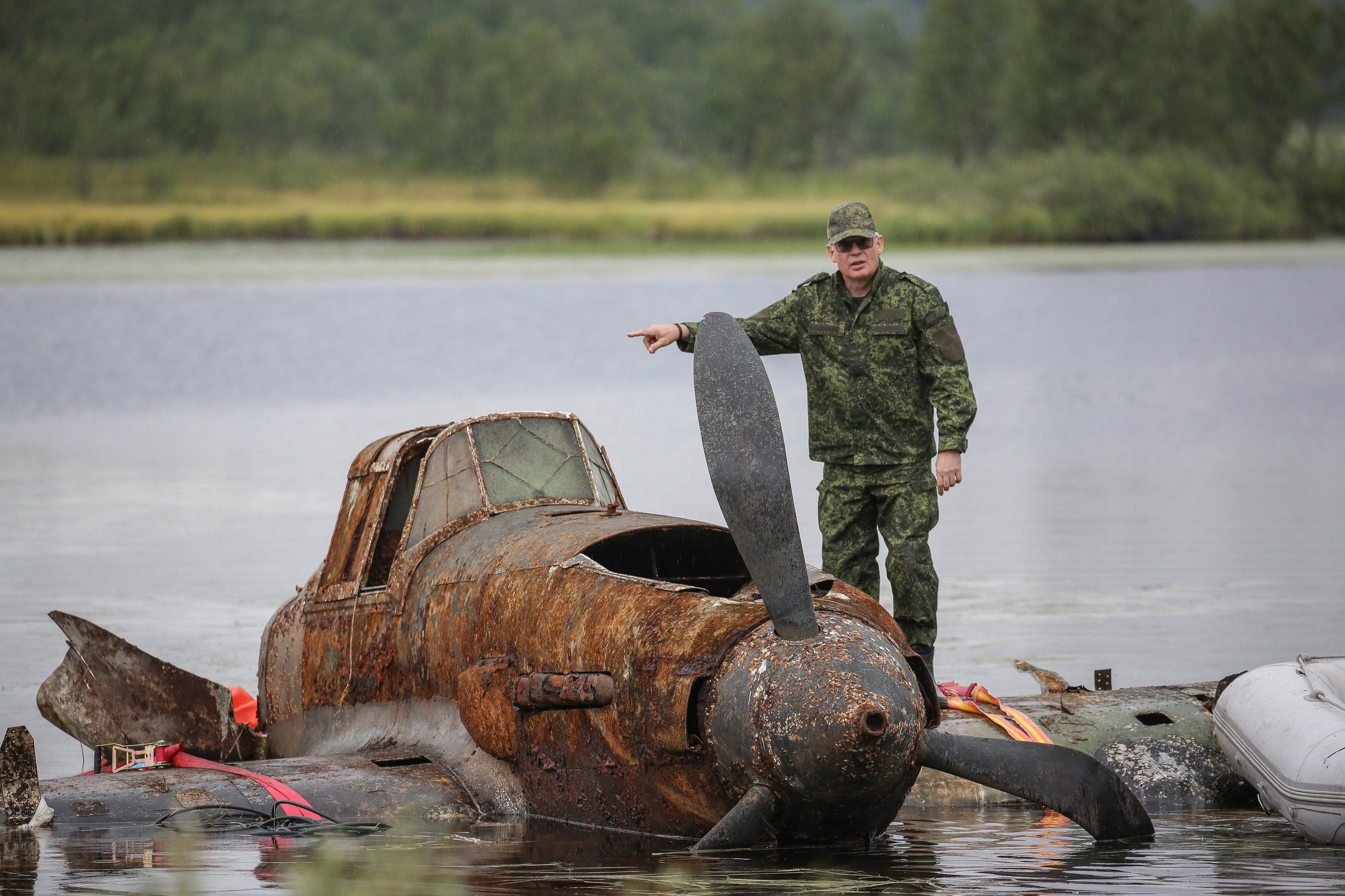 Un Il-2 repêché dans la région de Mourmansk