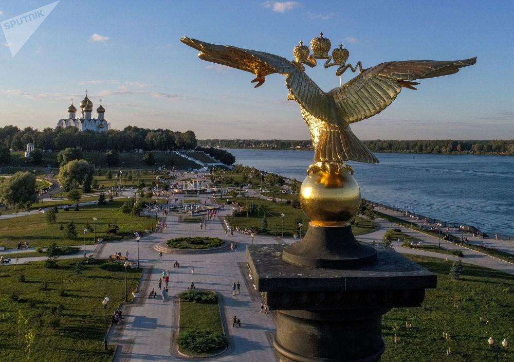 Iaroslavl à vol d'oiseau