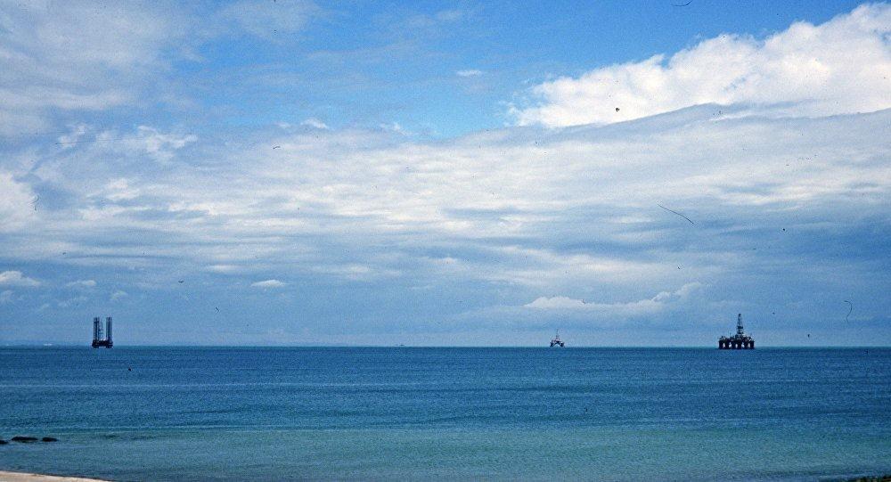La mer Caspienne