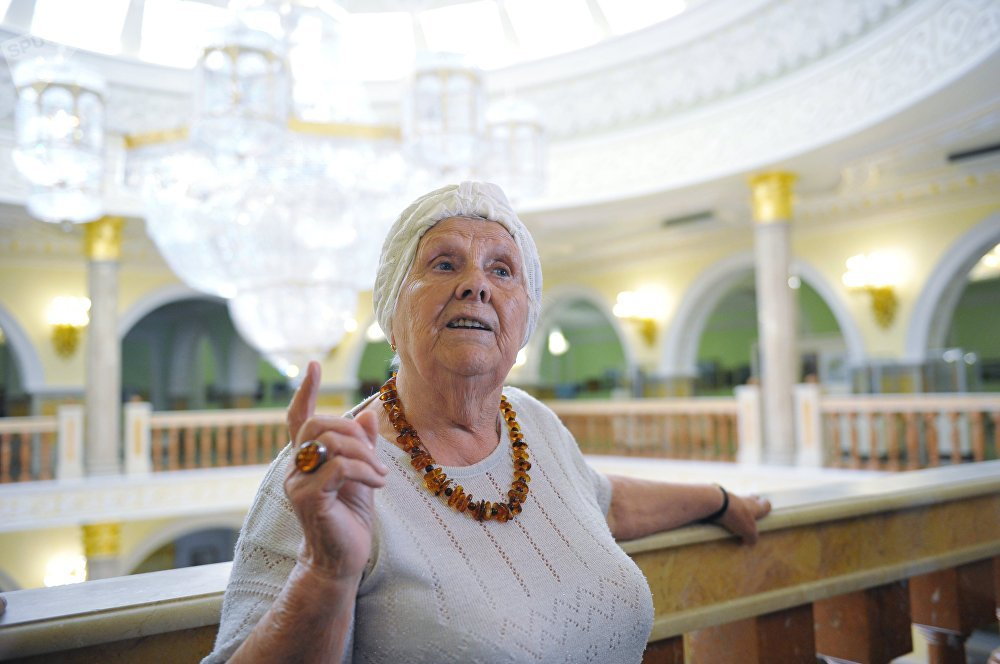 L'ancienne enseignante de Poutine  Vera Gurevich