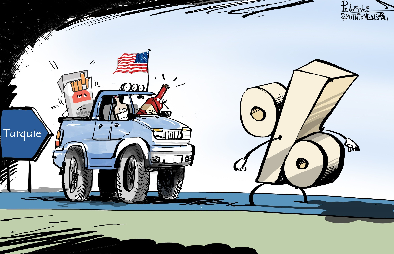Sanctions US contre la Turquie: Erdogan contre-attaque