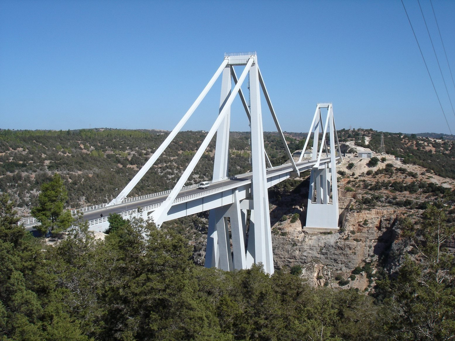 Pont Wadi el Kuf en Libye