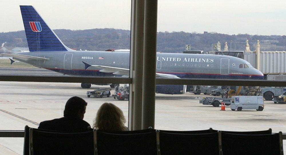 Un avion de la compagnie United Airlines