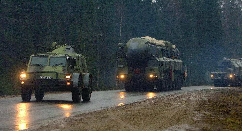 Système de missiles balistiques intercontinentaux russes Topol