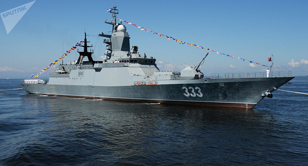 La corvette russe Soverchenni