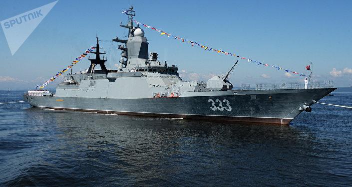 La corvette russe Soverchenni