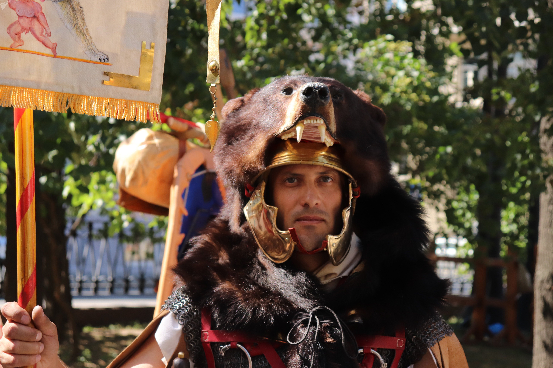 Le festival de reconstitution historique «le Temps et les Époques» à Moscou