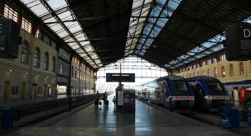 Gare de Saint Charles à Marseille (Image d'illustration)