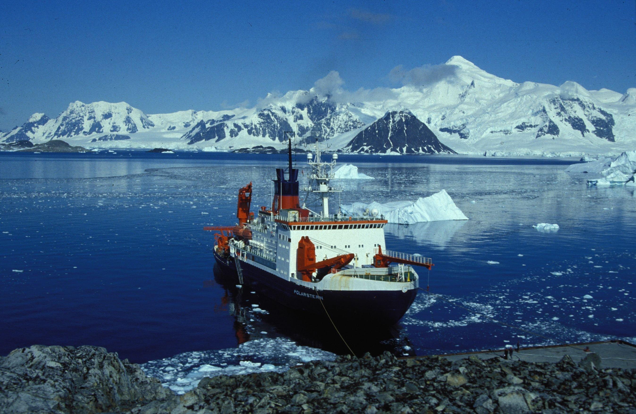 Le navire de recherche allemand Polarstern