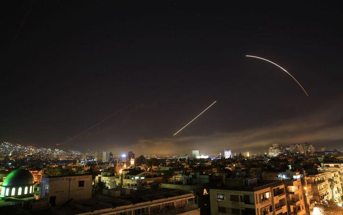 Frappes en Syrie, archives