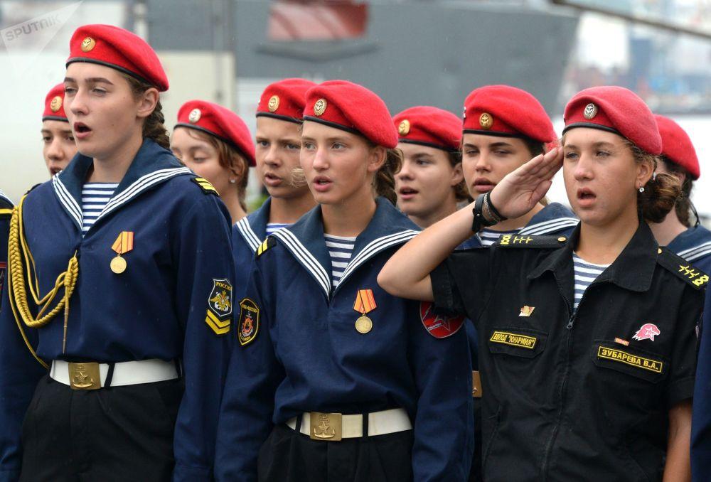 Les femmes militaires russes