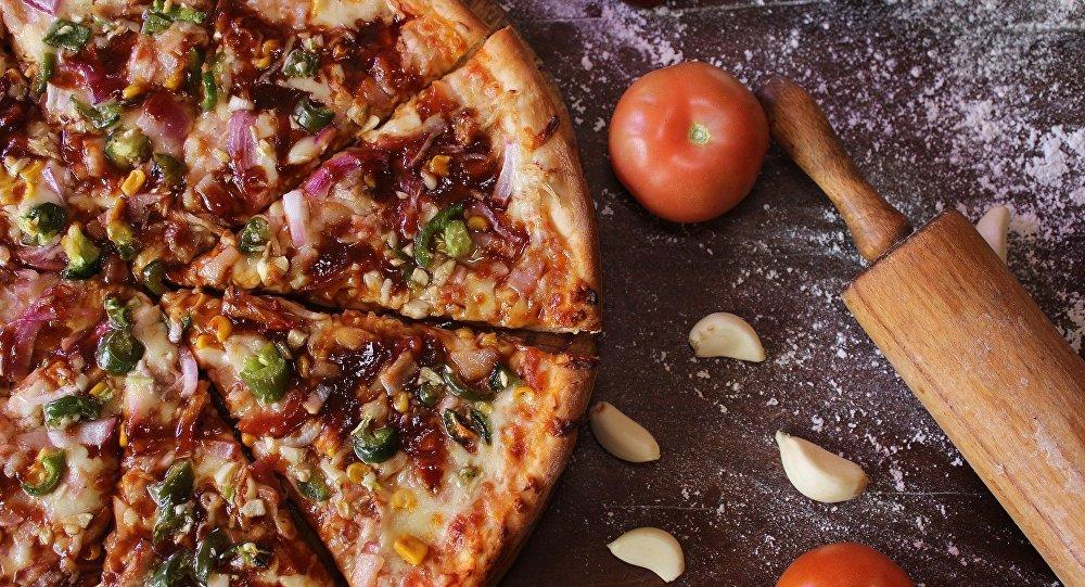 Une pizza (image d'illustration)